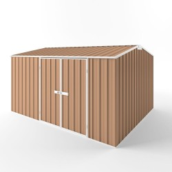 EasyShed Colour Gable Roof Garden Shed Large Garden Sheds 3.75m x 3.00m x 2.10m EGD3830