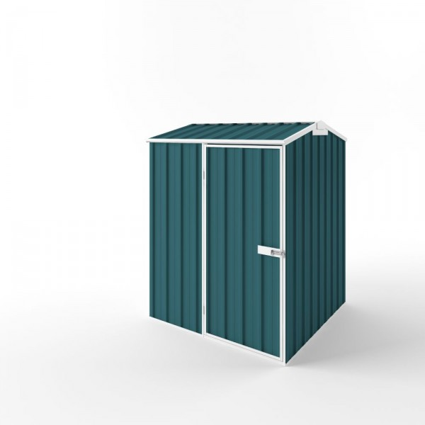 EasyShed Colour Gable Roof Garden Shed Small Garden Sheds 1.50m x 1.50m x 2.27m ETG-S1515