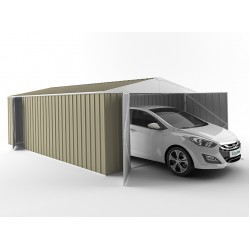 EasyShed Colour Garage Shed Single Garages 4.50m x 3.00m x 2.40m ETGAR-4530