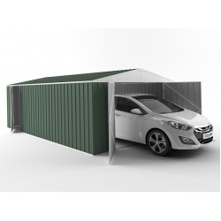 EasyShed Colour Garage Shed Single Garages 4.50m x 3.75m x 2.48m ETGAR-4538