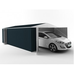 EasyShed Colour Garage Shed Single Garages 6.00m x 3.00m x 2.10m EGAR6030