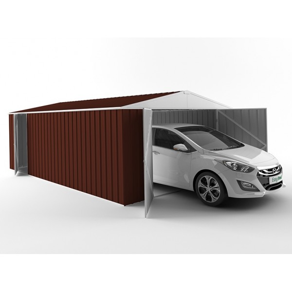 EasyShed Colour Garage Shed Single Garages 6.00m x 3.75m x 2.18m EGAR6038