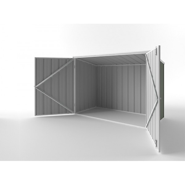 EasyShed Skillion Garden Locker 2.08m x 0.97m x 1.31m EGL-2110