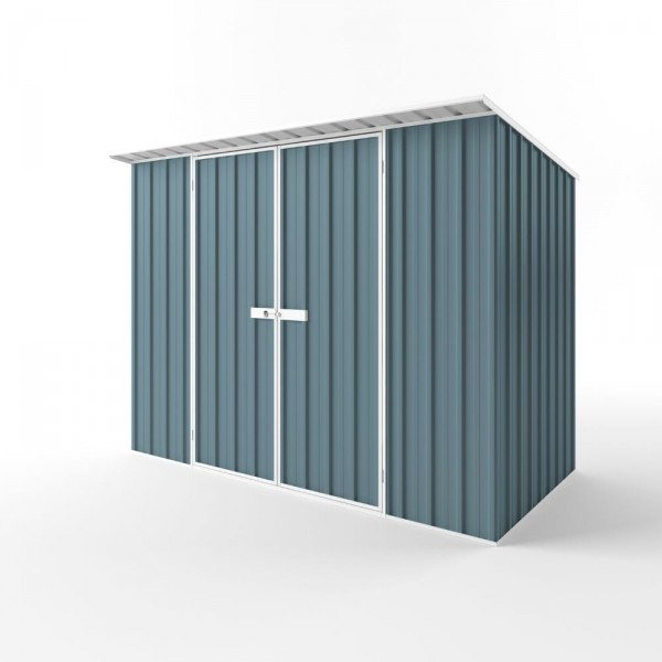 EasyShed Colour Skillion Roof Garden Shed Large Garden Sheds 3.00m x 1.50m x 2.10m ESD3015