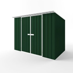 EasyShed Colour Skillion Roof Garden Shed Large Garden Sheds 3.00m x 1.50m x 2.10m ESD3019