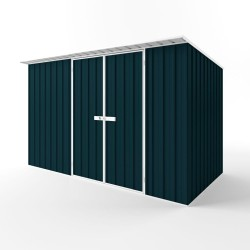 EasyShed Colour Skillion Roof Garden Shed Large Garden Sheds Colour 3.75m x 1.90m x 2.10m ESD3819
