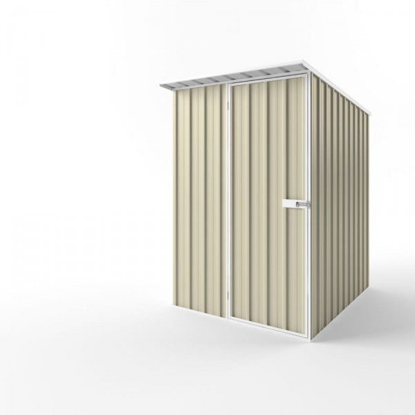 EasyShed Colour Skillion Roof Garden Shed Small Garden Sheds 1.50m x 1.90m x 2.10m ESS1519