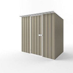EasyShed Colour Skillion Roof Garden Shed Medium Garden Sheds 2.25m x 1.50m x 2.10m ESS2315