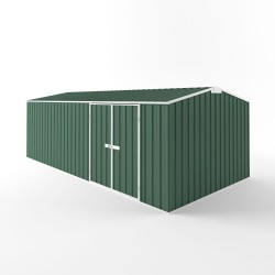 EasyShed Gable Truss Roof Workshop Garden Shed Extra Large Garden Sheds 6.00m x 3.00m x 2.10m ETD6030