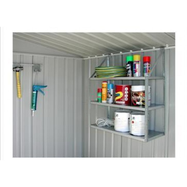 Spanbilt 3 Tier Shelf Set *** MUST BE ORDERED AT THE SAME TIME AS A SPANBILT SHED *** Spanbilt Shed Accessories