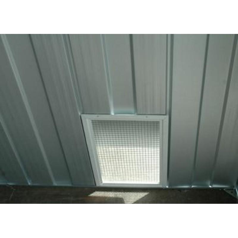 Spanbilt chemical shed ventilation kit atlas sheds for Garden shed ventilation