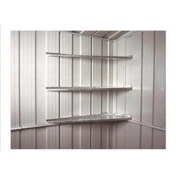 Spanbilt Corner Shelves (6 Pack) *** MUST BE ORDERED AT THE SAME TIME AS A SPANBILT SHED *** Spanbilt Shed Accessories
