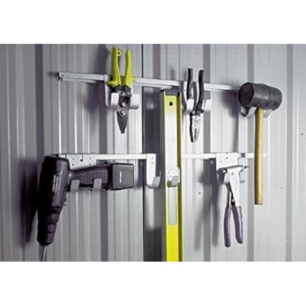 Spanbilt Tool Hanging Rack *** MUST BE ORDERED AT THE SAME TIME AS A SPANBILT SHED *** Spanbilt Shed Accessories