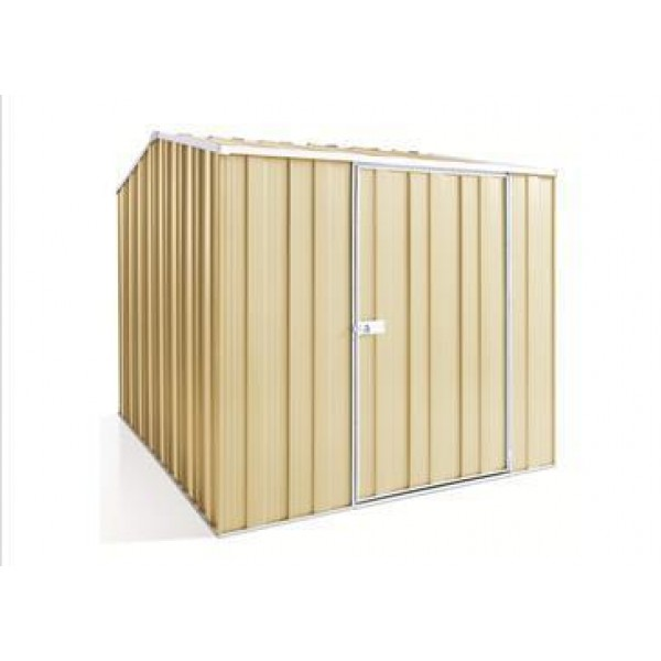 Spanbilt Yardsaver Maxistore G68-S Colour 2.105m x 2.800m x 2.085m Gable Roof Garden Shed Medium Garden Sheds