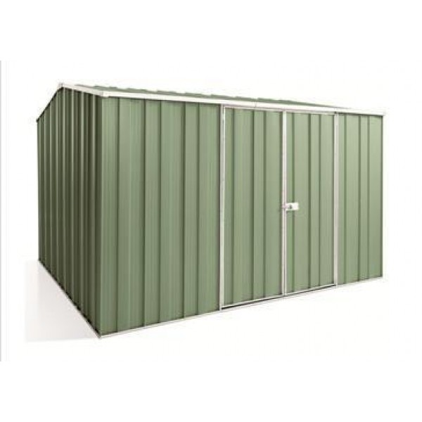 Spanbilt Yardsaver G98-D Colour 3.145m x 2.80m x 2.085m Gable Roof Garden Shed
