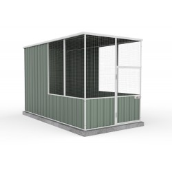 Absco A15301FK 1.52m x 2.96m x 1.80m  Flat Roof Aviary Flat Roof
