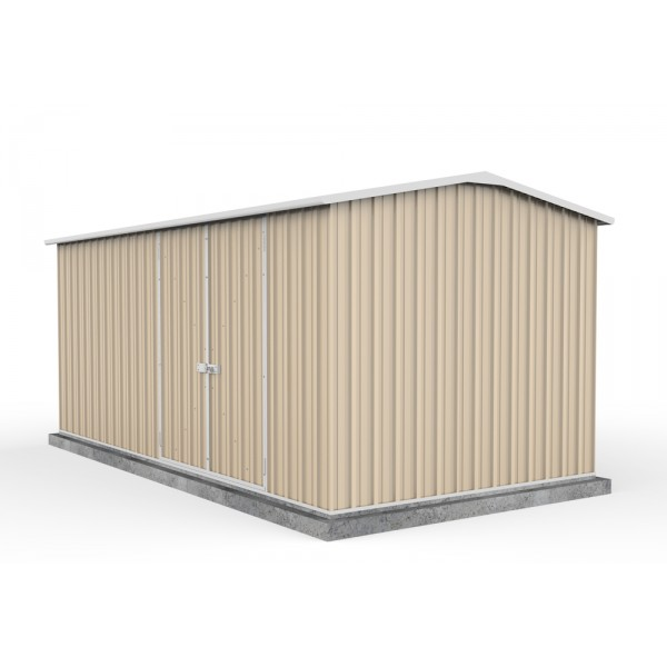 Absco 45232WK 4.48m x 2.26m x 2.00m Gable Workshop Shed Extra Large Sheds Colorbond