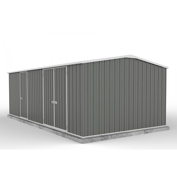 Absco Colorbond Gable Workshop Shed Extra Large Garden Sheds 5.96m x 3.00m x 2.06m 60303WK