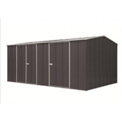 Spanbilt Eco Plus Workshop 1510 Colour 4.535m x 2.80m x 2.085m Gable Roof Workshop Shed Extra Large Garden Sheds