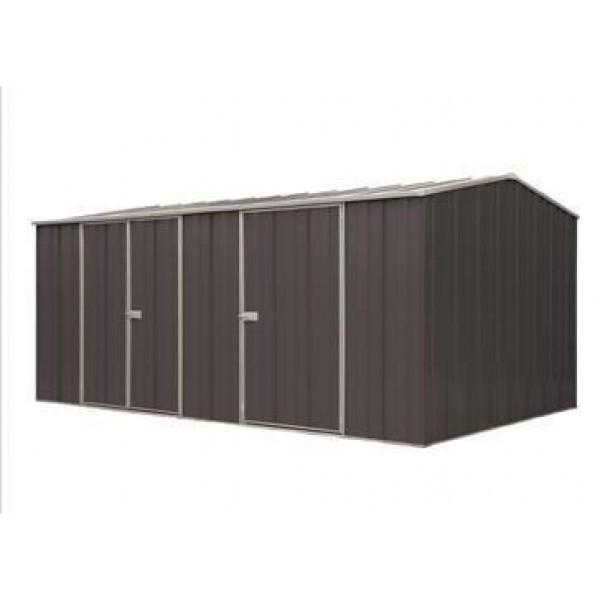 Spanbilt Eco Plus Workshop 1510 Colour 4.535m x 2.80m x 2.085m Gable Roof Workshop Shed Extra Large Garden Sheds
