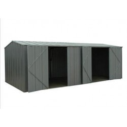 Spanbilt Yardpro G2010 Workshop Colour 5.915m x 2.80m x 2.085m Gable Roof Workshop Shed Extra Large Garden Sheds