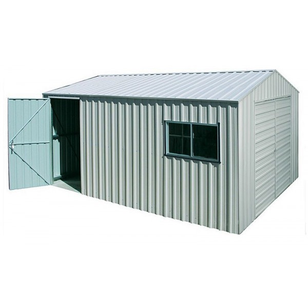 Spanbilt Yardpro Workshop 360B Zinc 3.60m x 4.40m x 2.580m Gable Roof Workshop Shed Large Garden Sheds