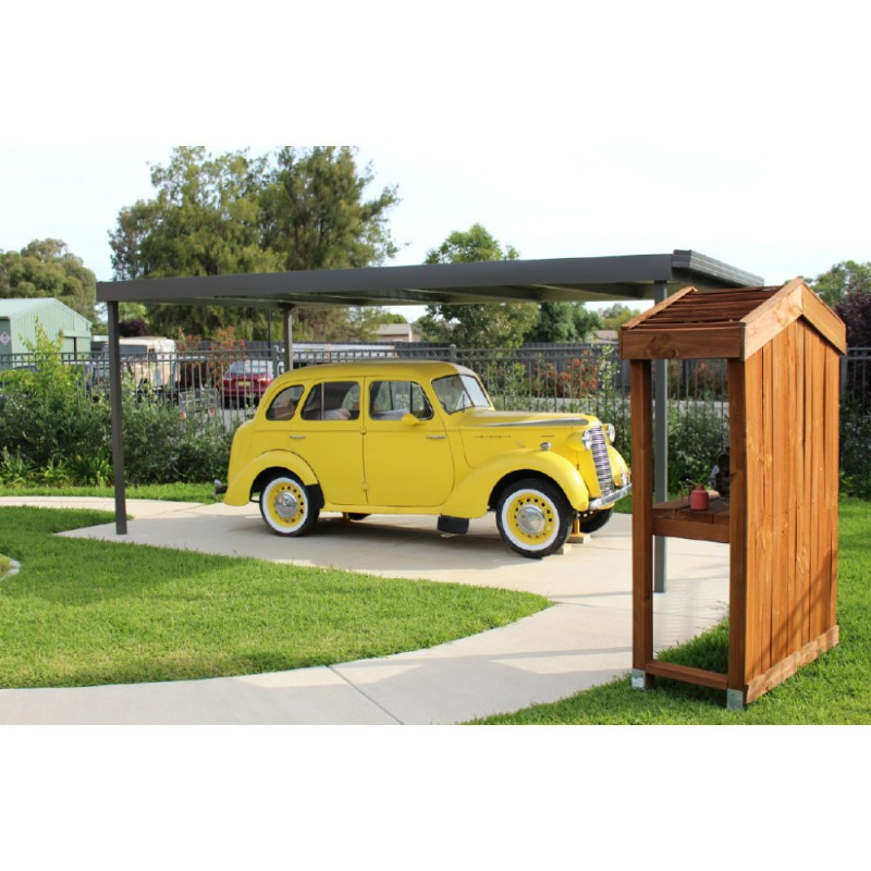 Custom Carports Product : Custom skillion carports atlas sheds