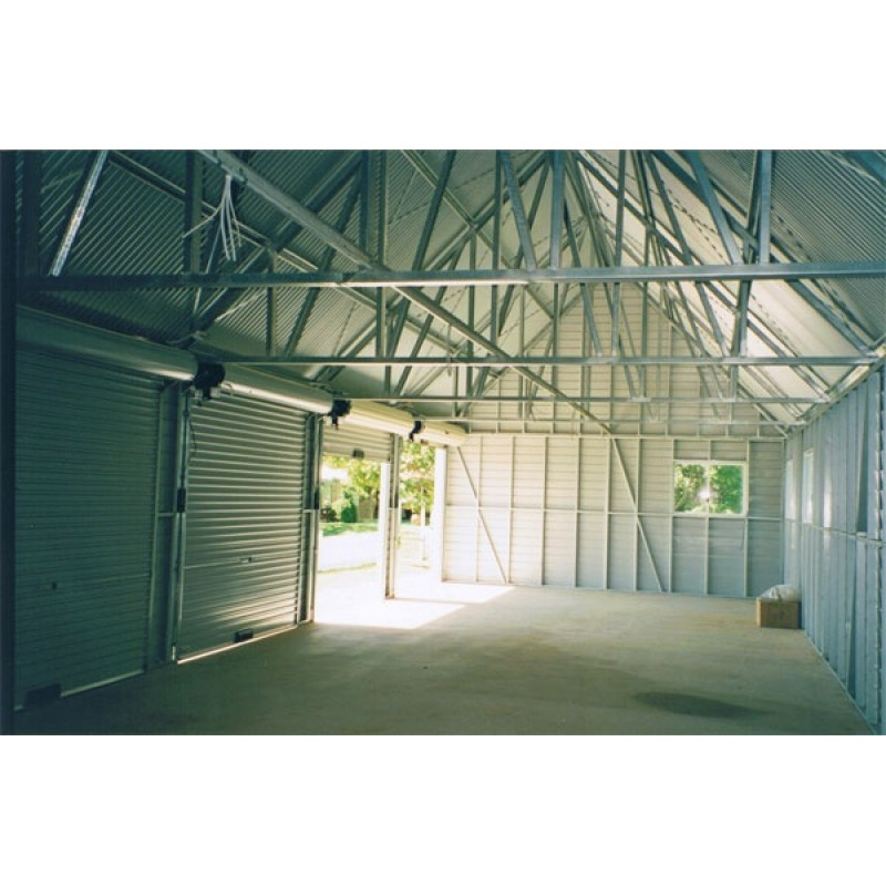 Custom Carports Product : Garage f six door atlas sheds