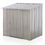 Spanbilt Storemate S43 Utility Storage Zinc 1.41m x 1.07m x 1.48m Skillion Pool Pump Cover Small Garden Sheds