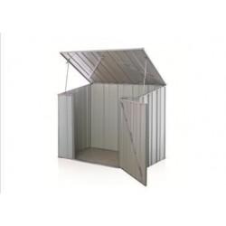 Spanbilt Storemate S53 Utility Storage Zinc 1.76m x 1.07m x 1.48m Skillion Pool Pump Cover Small Garden Sheds
