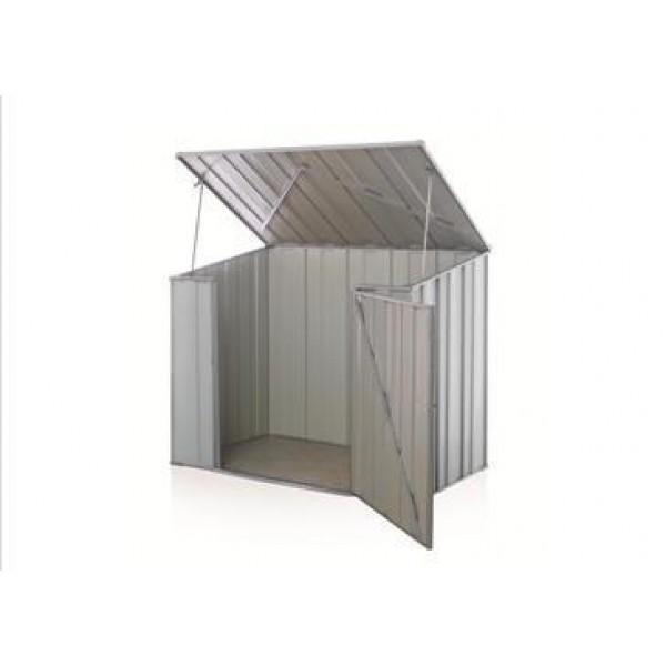 Spanbilt Storemate S43 Utility Storage Zinc 1.41m x 1.507m x 1.48m Skillion Pool Pump Cover Small Garden Sheds